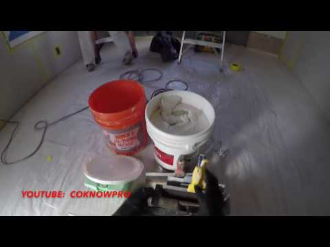 How to Tape & Plaster Interior Drywall by CoKnowPro (YouTube)