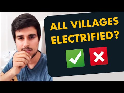 100% Village Electrification: Is it true? | Dhruv Rathee Facebook Live