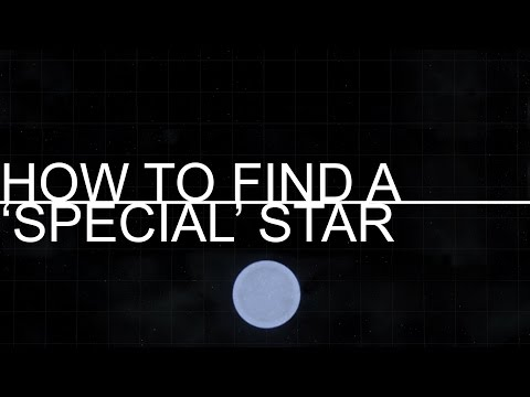 Elite Dangerous - How to find 'special' star types