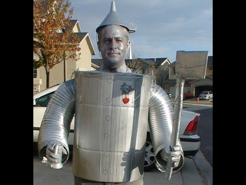 How To Make A Tin Man Costume (Wizard of Oz)