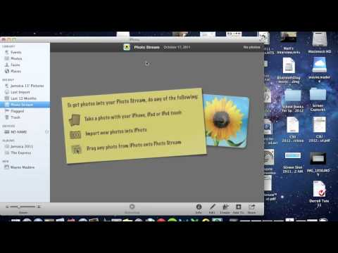 How to Set Up PhotoStream on Your Mac​​​ | H2TechVideos​​​