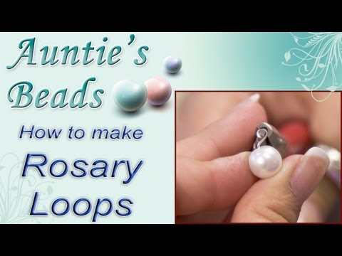Karla Kam - How To Make Rosary Loops