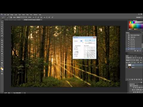 Sun Light Effect - Creating Artificial Sunlight in Photoshop