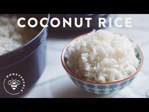 Coconut Rice Recipe - HoneysuckleCatering