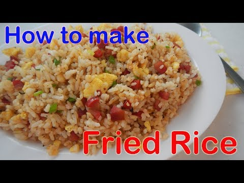 Fried Rice (Sinangag na kanin)