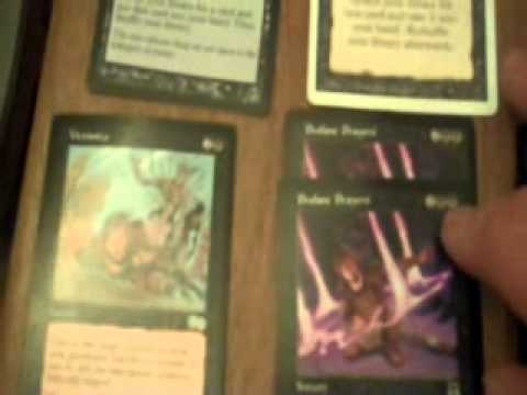 MTG zombie/cleric deck