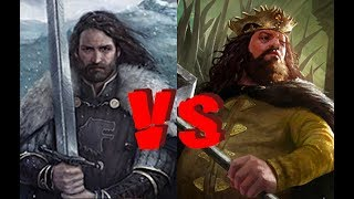 Young Robert Baratheon VS Young Ned Stark - WESTEROS BRAWLS