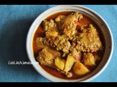 Jamaican Curry Chicken Recipe Video