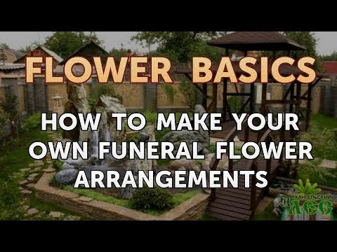 How to Make Your Own Funeral Flower Arrangements