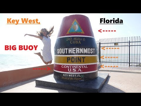 Driving to Key West on US Route 1 to The Southernmost Point in The Continental USA