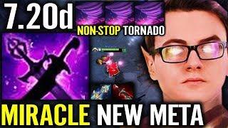 Best Invoker World: Miracle 7.20d Vs Counter Pick New Imba Epic Gameplay Dota 2