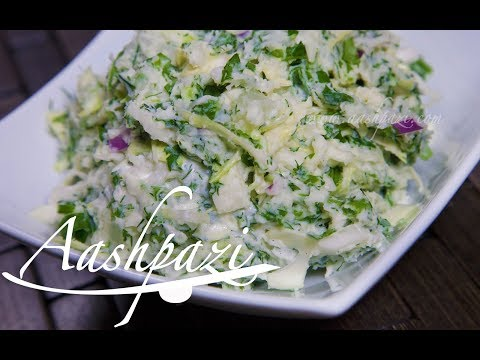 Potato Cabbage Salad Recipe 4K