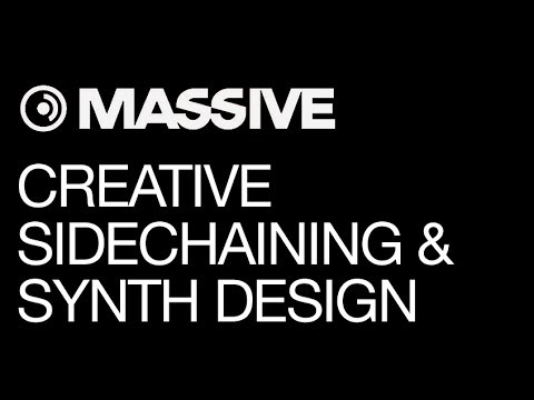 NI Massive - Tech House & Deep House Production - pt 3 - Creative Sidechaining, Synth Production