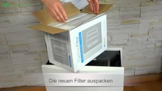 Blueair 503 / 603 / 650E Filter wechseln