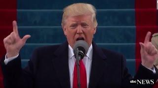 Trump Inauguration Speech (FULL) | ABC News