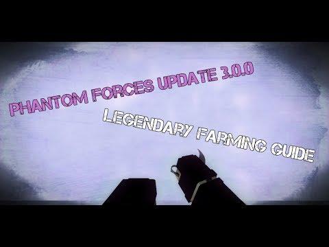 Phantom Forces Legendary Farming Guide