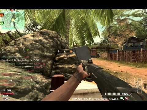 Mw3 Spas 12 Gameplay | 35 kills in 4 minuteness
