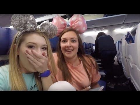 Walt Disney World Vlog - Travel Day!