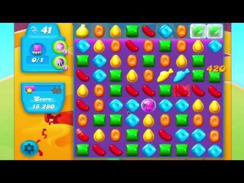 Candy Crush Soda Saga Level 243  HARD CANDY STRING