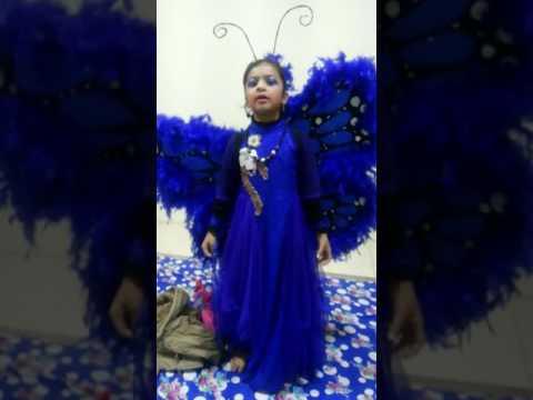 Fancy dress butterfly