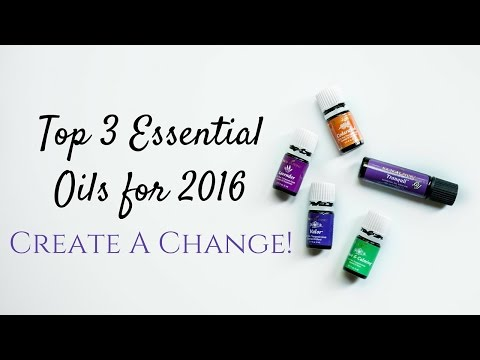 My Top 3 Essential Oils for 2016