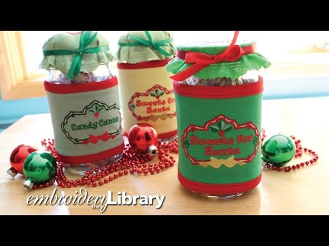 Sweet Canning Jar Tops and Wraps