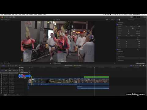 Final Cut Pro X: Rendering in the Background