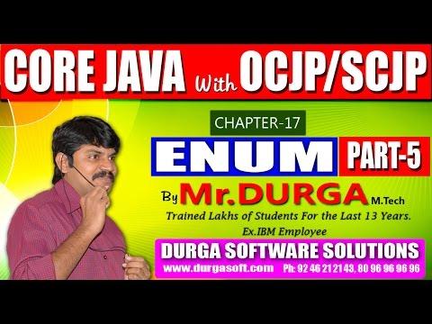 Core Java With OCJP/SCJP-ENUM-Part 5