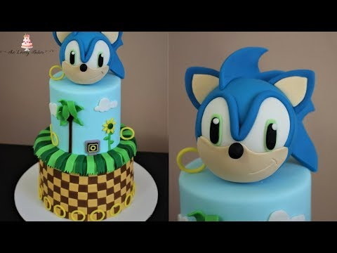 Sonic The Hedgehog Cake Tutorial!