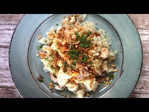 How to make Goi Cu Cai (Vietnamese daikon salad/ Nom cu cai)