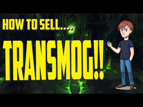 How To Sell Transmog  | Beginners Guide