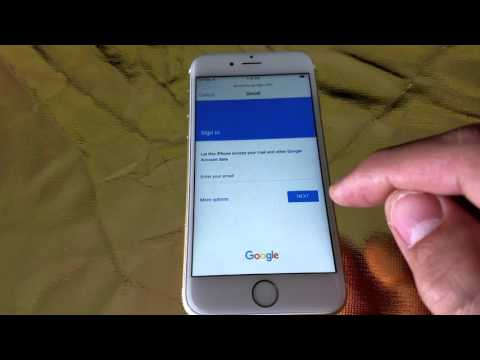 How to Add Gmail Account on iPhone 6 & 6s
