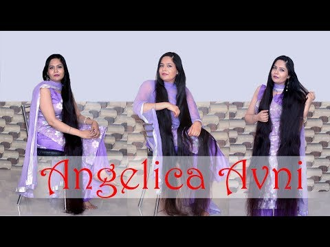 Thick Long Beautiful Silky Hair Oiling || Real Indian Rapunzel Scalp Massage