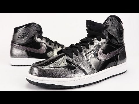 Air Jordan 1 High Black Patent Leather Space Jam Review + On Feet