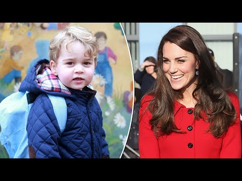 Pregnant Kate hopeful to still do school run with George despite morning sickness