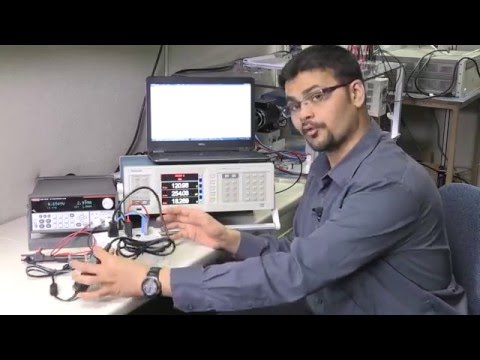 Power supply (Level VI) efficiency measurement with PA3000 Power Analyzer