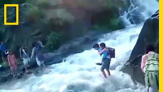 To Get To School, These Kids Must Cross a Deadly River   National Geographic