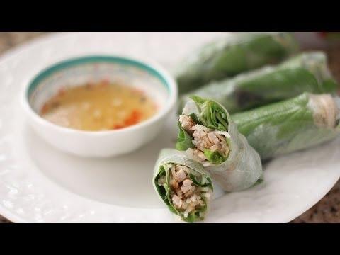 Bi Cuon (Shredded Pork Skin Spring Roll)