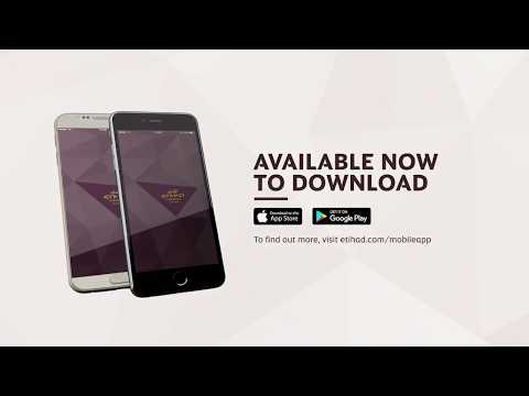 Etihad Airways Mobile App - Now with Apple Pay