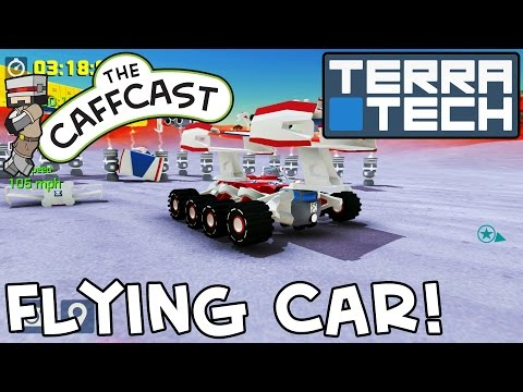 TerraTech - How To Make A FLYING CAR! (Tutorials & Lessons)