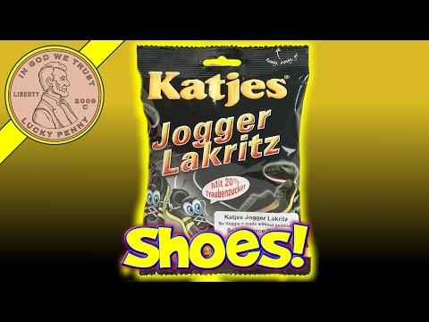 Katjes Jogger Lakrits Licorice Shoe Candy