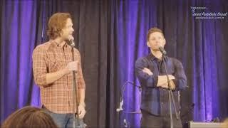 Comparando Jared e Jensen de Sam e Dean (SPNORL 2018)