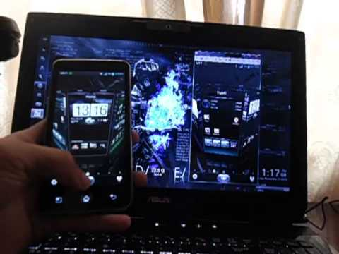 View Android Screen on PC via wifi connection- Katz2012