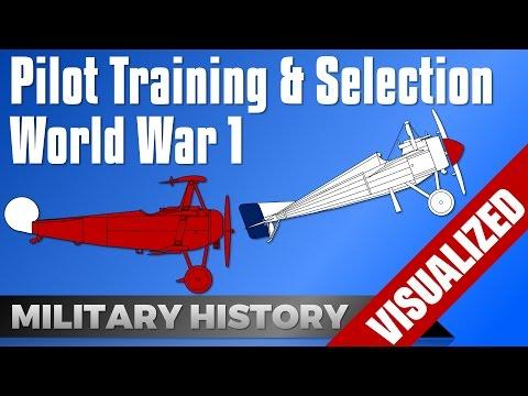 Pilot Training & Selection - First World War #WW1