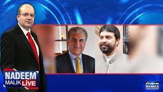 Intikhab Se Pehle PMLN Mein Phoot | Nadeem Malik Live | SAMAA TV | 09 April 2018