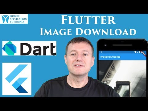 Flutter image download and display tutorial