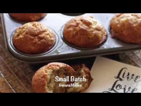Small Batch Banana Muffins   ZagLeft