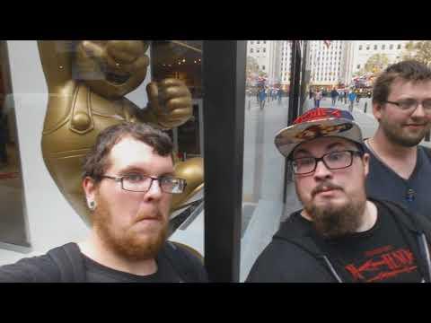 Nikko Goes to Manhattan 2 - Children's Zoo, Nintendo Store, Walking Around, & Japanese Grocery Store