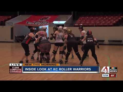 'Roll' Nichols gets an inside look at the KC Roller Warriors