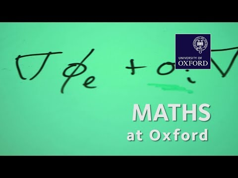 Maths at Oxford University